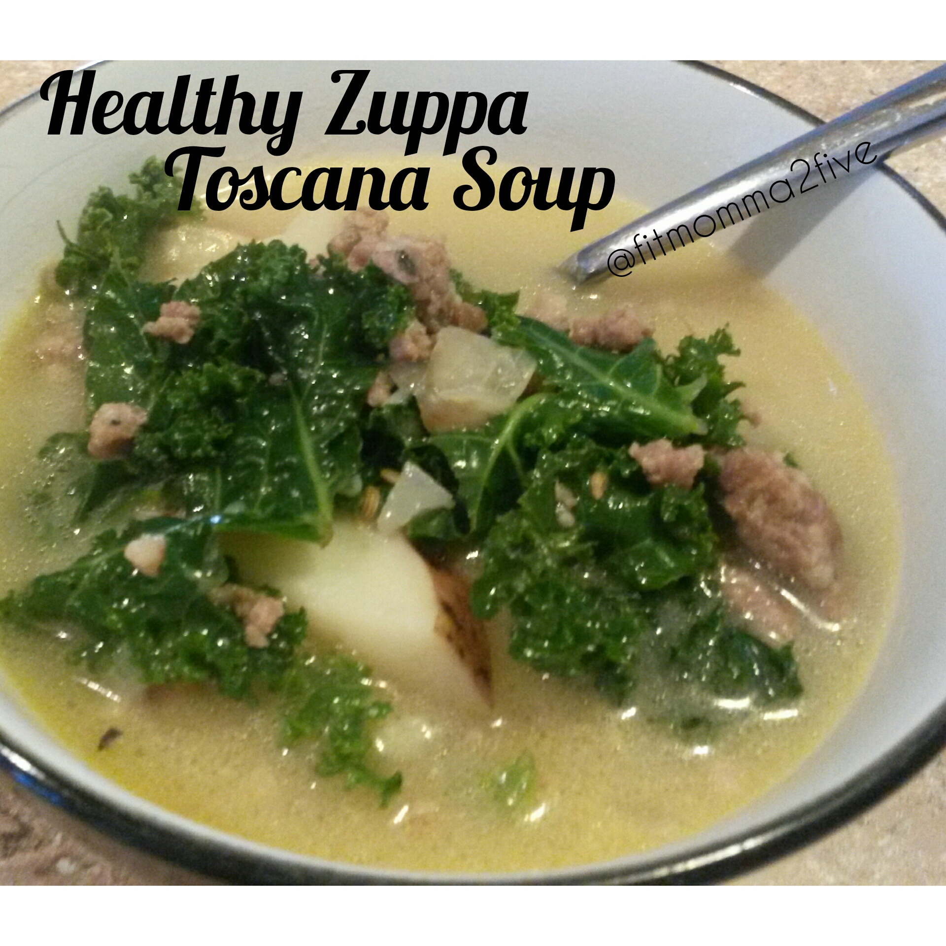 Healthy zuppa toscana soup 21 day fix approved - What kind of soup does olive garden have ...