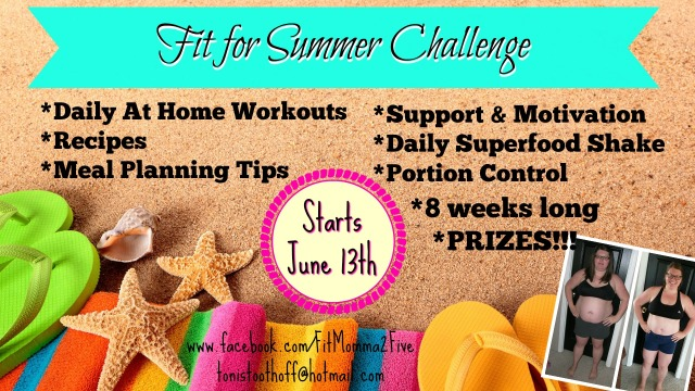 fit for summer challenge